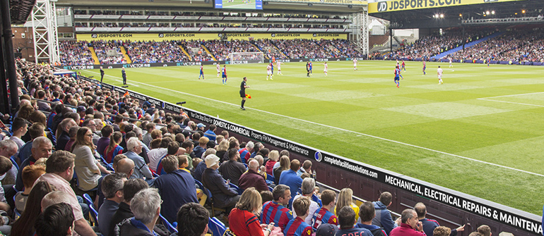 CFS Sponsors Crystal Palace FC