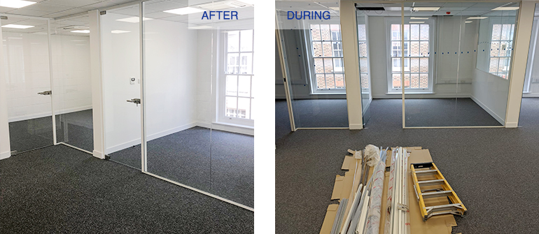 Sasmic Office Refurbishment