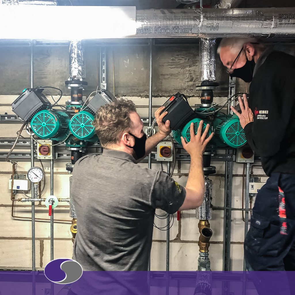 heating pump repair in nottingham removing old new system