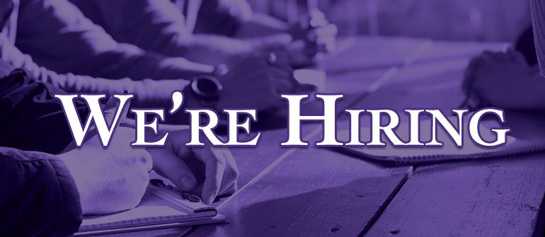 We're Hiring at CFS –Job Vacancy